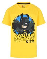 LEGO Wear chlapčenské tričko Batman LW-12010023 104 žltá