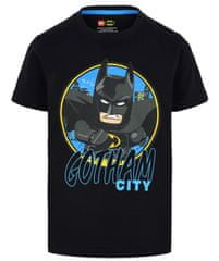 LEGO Wear chlapčenské tričko Batman LW-12010023 104 čierna