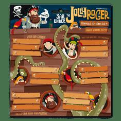Ars Una Ars Una Jmenovky na sešity Pirát Jolly Roger 18ks