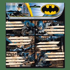 Ars Una Ars Una Jmenovky na sešity Batman 18 ks