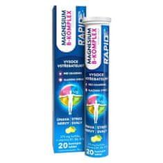 GLENMARK Magnesium B-Komplex Rapid šum.tbl.20 2+1 ZDARMA