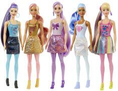 Mattel Barbie Color Reveal Bleščeča Barbie