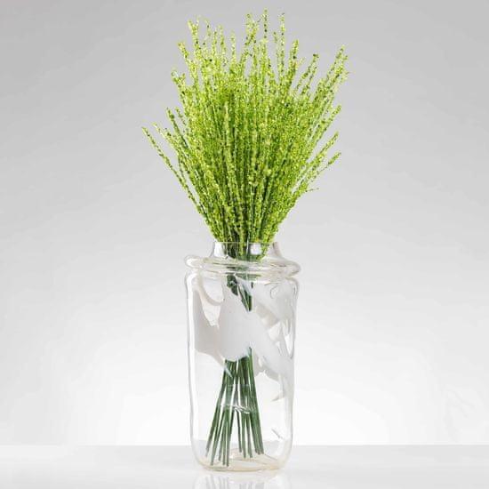 JULEST Umělá větvička VALÉRIE zelená. Cena uvedena za 1 kus.
