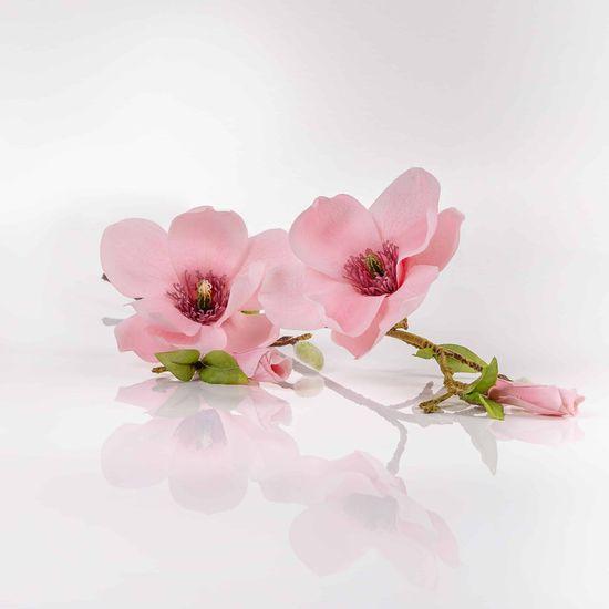 JULEST Umělá magnolie HELENA růžová. Cena uvedena za 1 kus