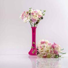 JULEST Kytička hortenzií PENELOPE růžově-bílá.