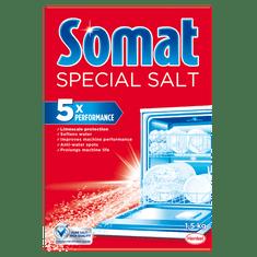Somat Salt sol za pomivalni stroj, 1,5 kg