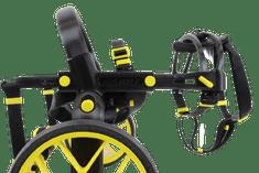 AnyoneGo Invalidní vozík pro psa na zadní nohy Mikro | Comfort | černá/žlutá, XS