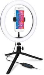 Connect IT Selfie10Ring kruhové LED světlo CLI-2000-SM, malé