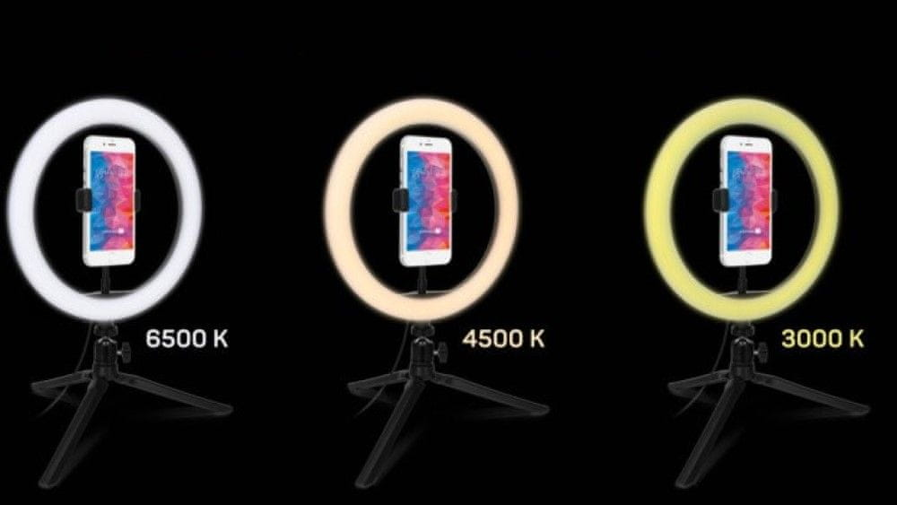 Connect IT Selfie10Ring kruhové LED světlo CLI-2000-SM