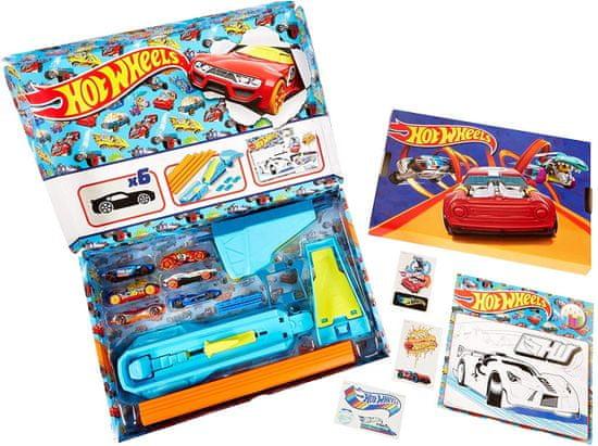 Hot Wheels darilna škatla
