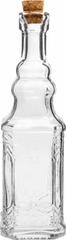 SHARK Skleněná láhev s korkovým uzávěrem 140 ml BABEL