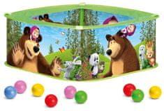 Bino Máša a Medvěd Bazének s balónky