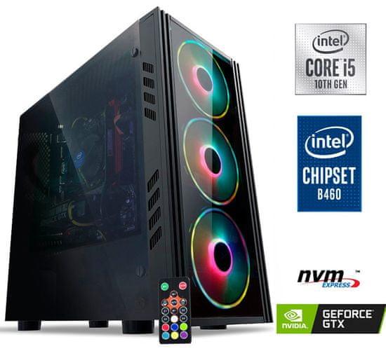 MEGA 5000 namizni gaming računalnik (PC-G5554RGB)