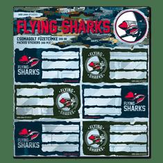 Ars Una Jmenovky na sešity Flying Sharks
