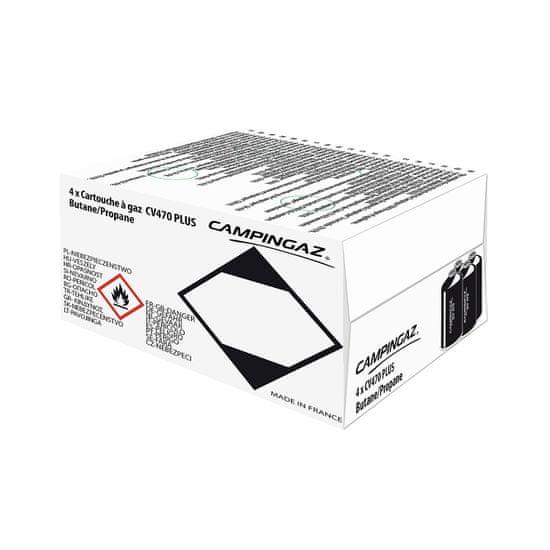 Campingaz Kartuša CV470+ x4 pack Duolabel