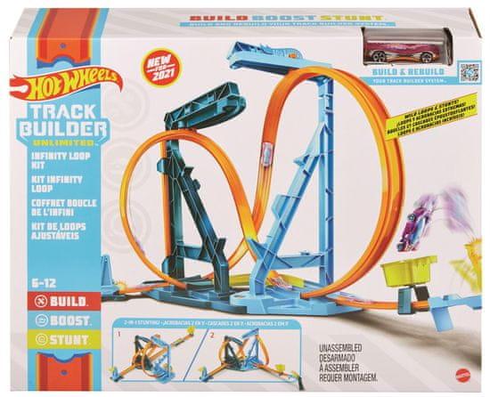 Hot Wheels neskončna zanka Track Builder, nabor iger