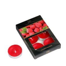 """Kraftika Sada čajových svíček s vůní """"sweet raspberry"""" v dárkové"""