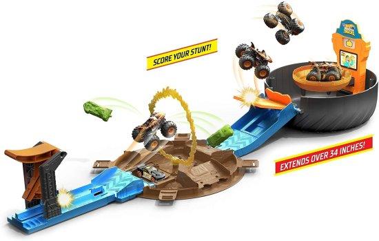Hot Wheels Monster trucks Kaskaderske točke igralni komplet