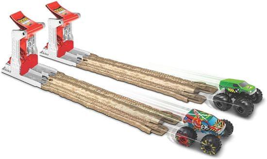 Hot Wheels Monster trucks Dvojno uničenje igralni komplet