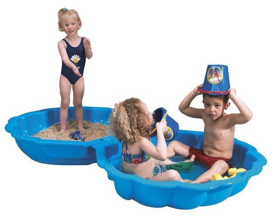 Paradiso Pískoviště/bazének mušle
