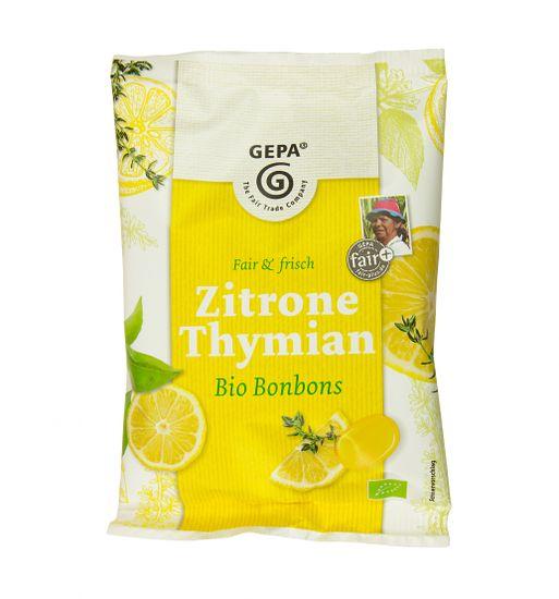 Gepa Bio bonbóny citrón s tymiánem 100 g