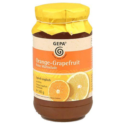 Gepa Fairtrade marmeláda pomeranč grapefruit 340g