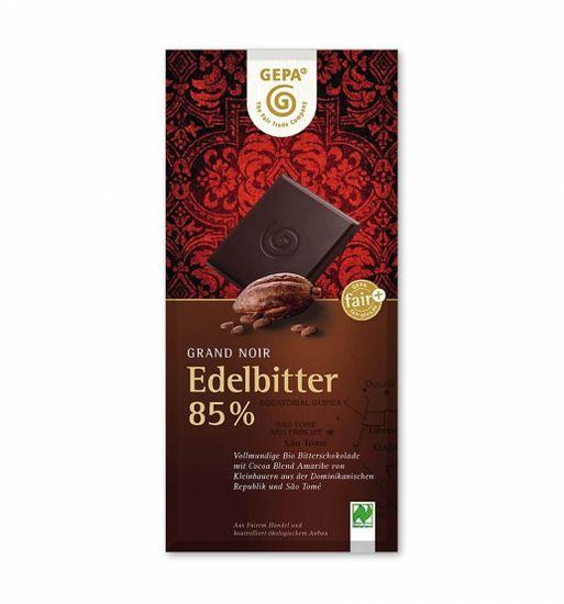 Gepa Bio čokoláda hořká 85% kakaa 100 g