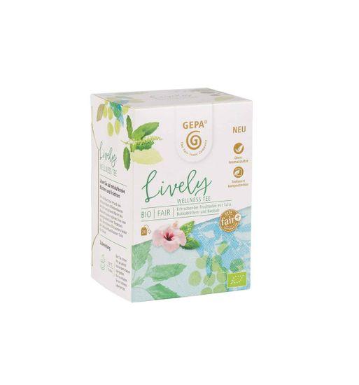 Gepa Bio Fairtrade Lively čaj 20 x 1,7 g