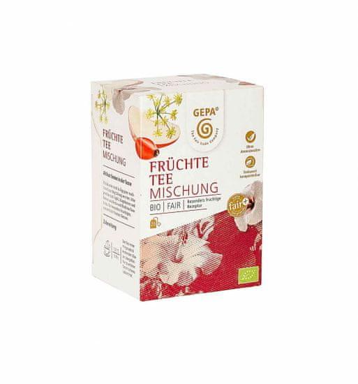 Gepa Bio Fairtrade ovocný čaj 20 x 1,7 g