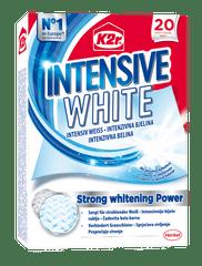 K2R Intensive White lističi za beljenje tkanin, 20 kosov