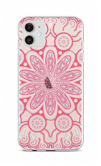 TopQ Kryt iPhone 12 silikón Romantic Mandala 55302