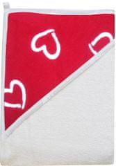 COSING kopalna brisača 320g/m2, 100 x 100 cm, bela
