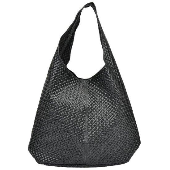 Mangotti Usnjena torbica AW19MG8063 Nero