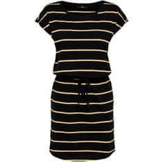 ONLY Ženska obleka ONLMAY 15153021 Black DVOJNA RUMENA RUMENA / OBLAČNA DANCE R (Velikost XS)