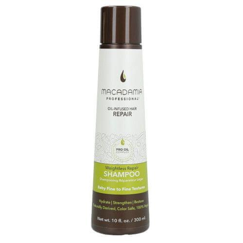 Macadamia Lehký hydratační šampon pro všechny typy vlasů Weightless Repair (Shampoo)