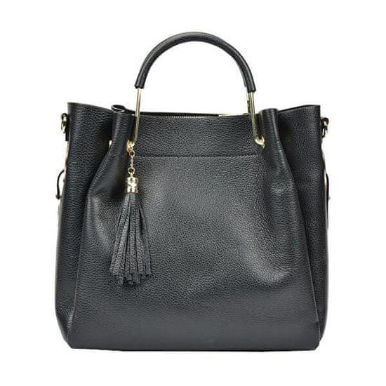 Carla Ferreri Ženska usnjena torbica AW19CF1277 Nero