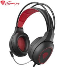 Genesis Radon 300 gaming slušalke, mikrofon, USB, LED