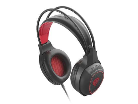 Genesis Radon 300 gaming slušalice, mikrofon, USB, LED