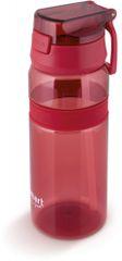 Lamart Športová fľaša STRAW LT4060 0,7 l červená