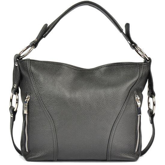 Carla Ferreri Ženska usnjena torbica AW20CF1233 Nero