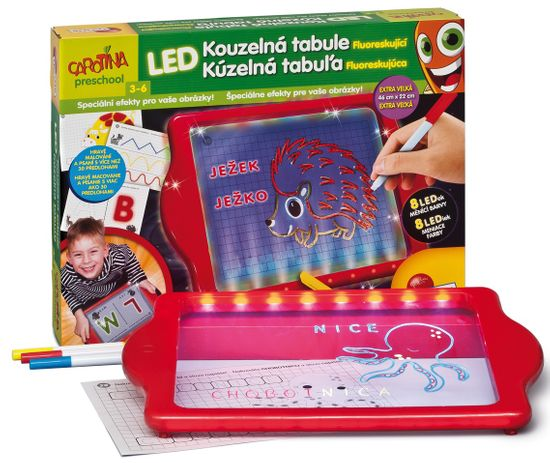 Lisciani LED Kúzelná tabuľa