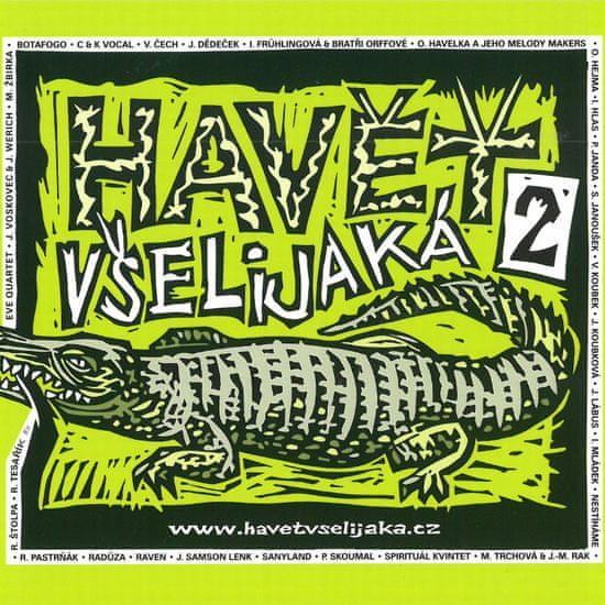 Havět všelijaká 2 - CD