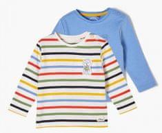 s.Oliver 2 pack chlapeckých triček 405.10.102.12.130.2064227 50/56 vícebarevná