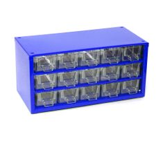 Mars Svratka, a.s. Kovinska škatla za orodje 15xa, modra