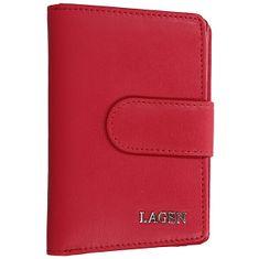 Lagen 50313 Red női bőr pénztárca