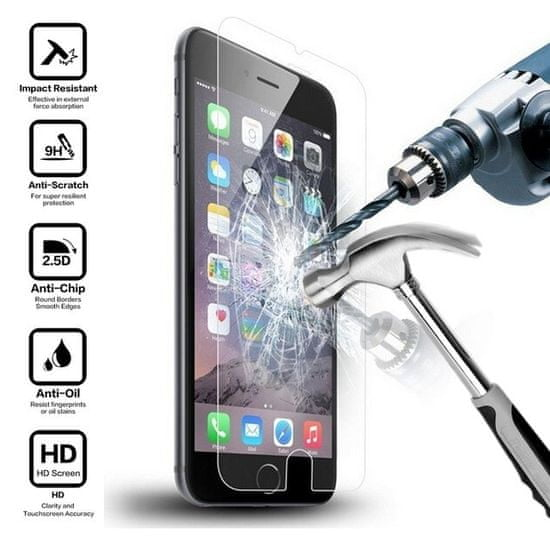 Oem Szkło hartowane 2.5D do iPhone 5 5S SE