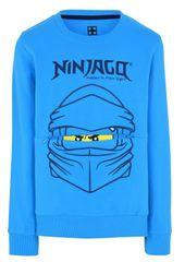 LEGO Wear chlapecká mikina Ninjago LW-12010054 92 modrá