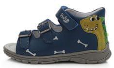 Ponte 20 chlapecké kožené sandály PS121-DA05-1-918 26 tmavě modrá