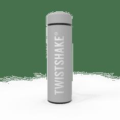 Twistshake termovka Hot or Cold 420ml, pastelno siva