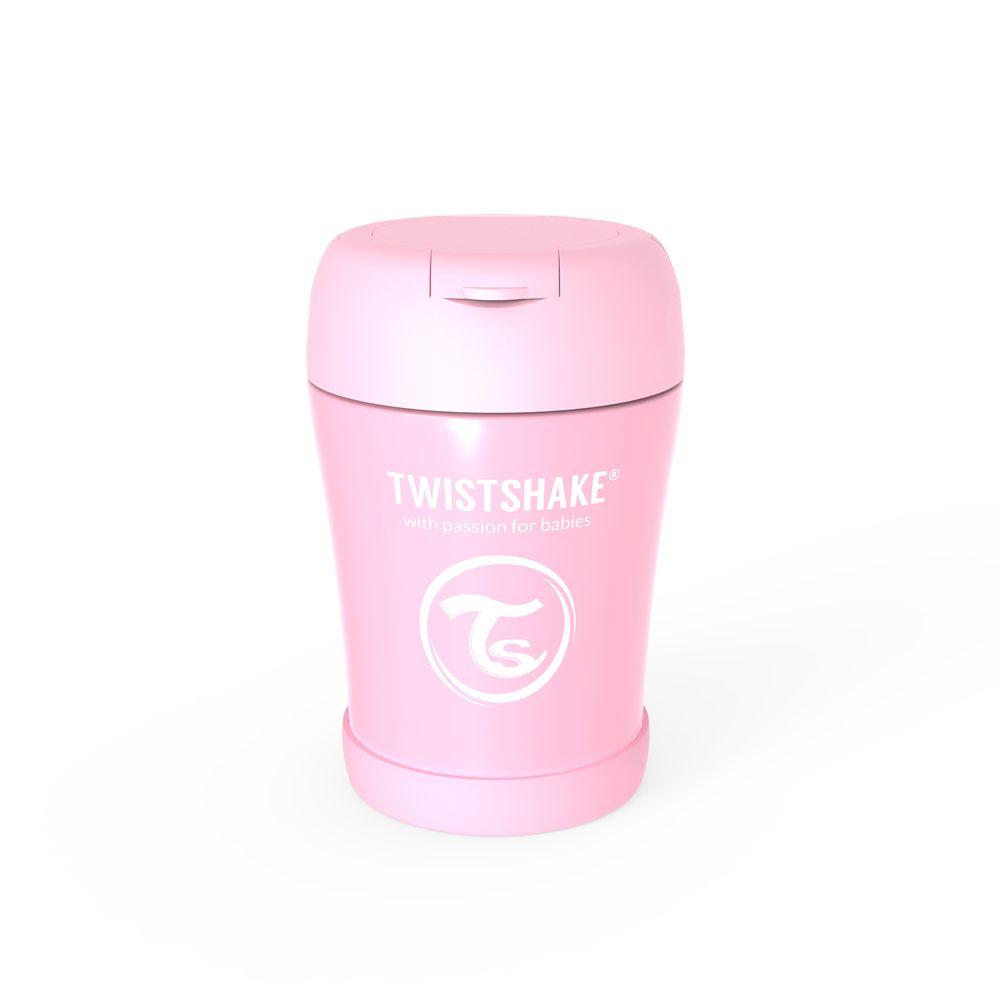 Twistshake Termoska na jídlo Pastelově růžová